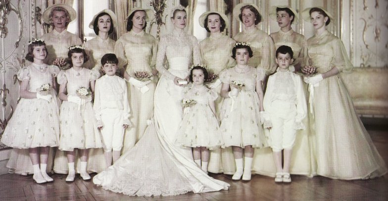 kelly wedding party
